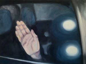 """""""No PIctures"""", oil on canvas, 14"""" x 18"""""""