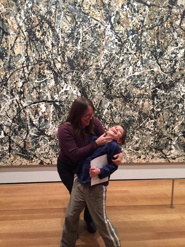MoMA Pollock show